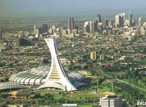 Montréal, stade olympique, tour de la bourse