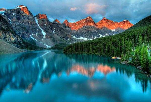 Alberta, Banff, Canada, Nuages