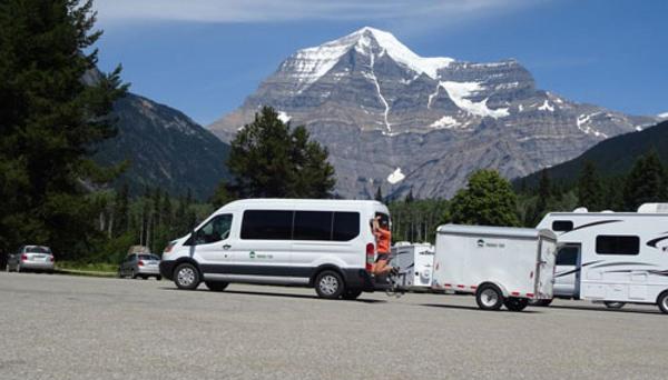 Transport, voyage accompagnée, Alberta, Canada, Trekking, Randonnée pédestre