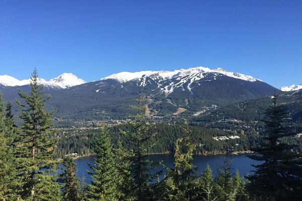 Whistler, montagne, Colombie-Britannique, Canada