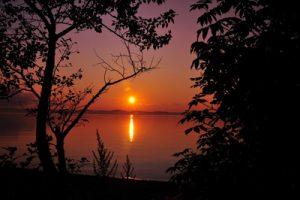 paysage rivière du loup, fleuve St-Laurent, Québec, Canada