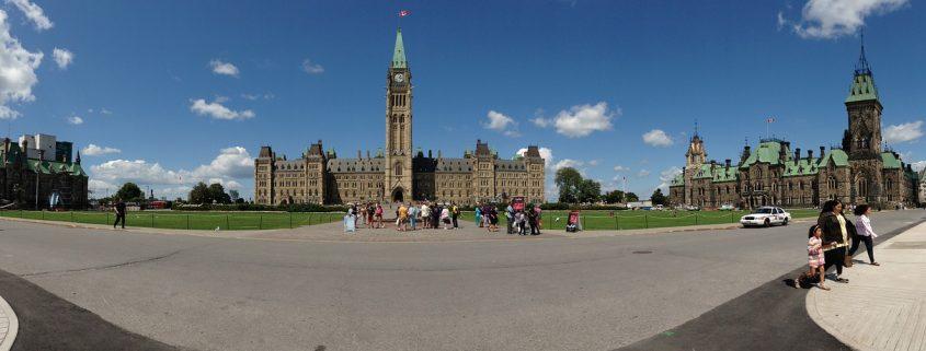 Le complexe du Parlement du Canada, à Ottawa.