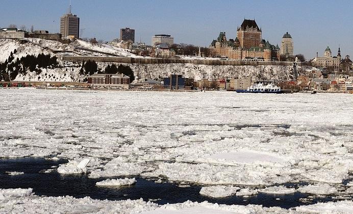 Bain de neige au royaume du Saguenay