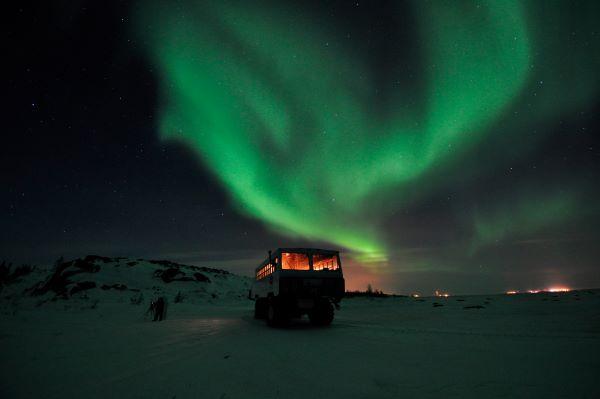 aurore boréale vent solaire spectacle nordique